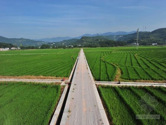 [山西]高标准基本农田整理示范项目初步设计报告(含计算表)