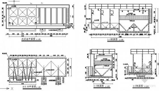 uasb工艺污水处理厂高程图资料下载-自来水厂各种净水工艺及高程布置图