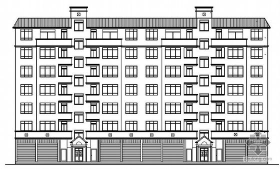 某七层商品住宅楼建筑结构施工图