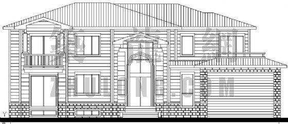 某精致别墅设计方案(1)