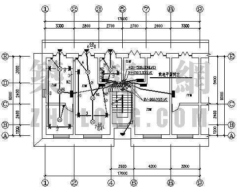 多层住宅楼某单元电气施工图