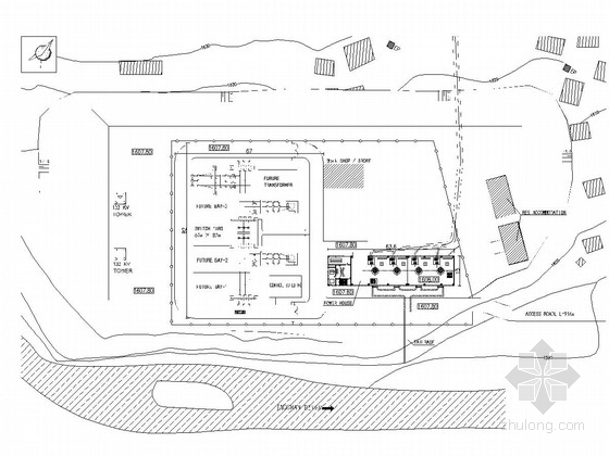 [巴基斯坦]中型水电站枢纽工程施工图(装机容量48MW)