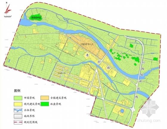 [四川]禅茶古镇景观规划方案设计-景观分析