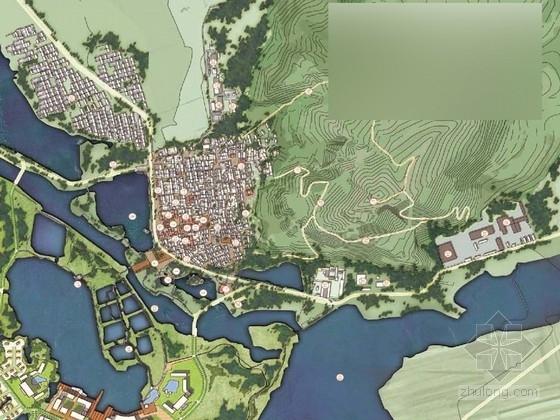 [山西]滨水湿地生态旅游度假小镇概念性景观规划设计方案