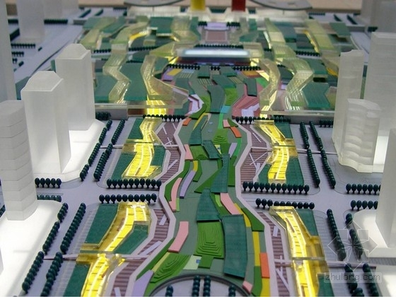 [深圳]中心广场轴中轴景观设计方案