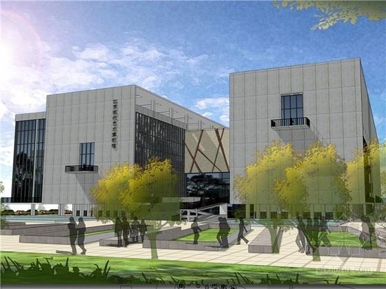 [课程设计]现代艺术博物馆设计(学生作业)