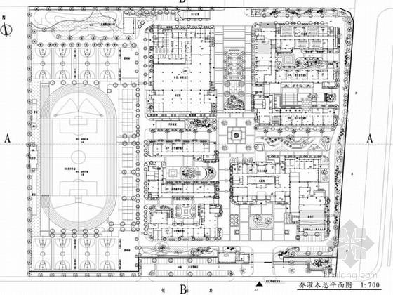 [江苏]小镇教育中心景观设计扩初图