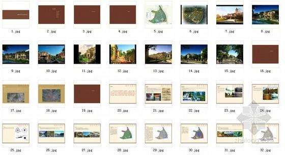 [浙江]古典欧式住宅及星级酒店单体建筑设计方案文本-总缩略图