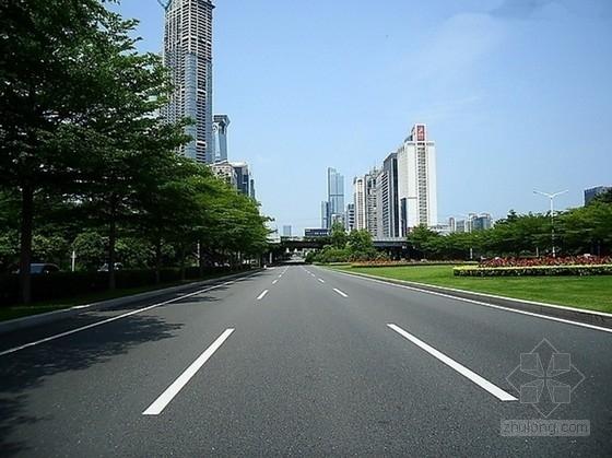 [安徽]城市道路施工图设计124页(含排水照明绿化)