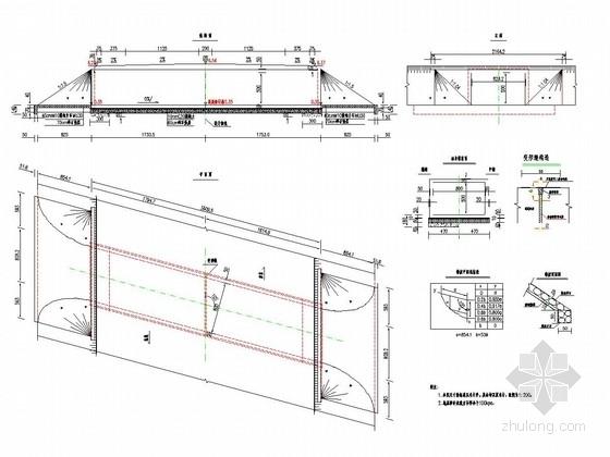 [江苏]一级公路钢筋混凝土箱涵及圆管涵施工图设计(38张)