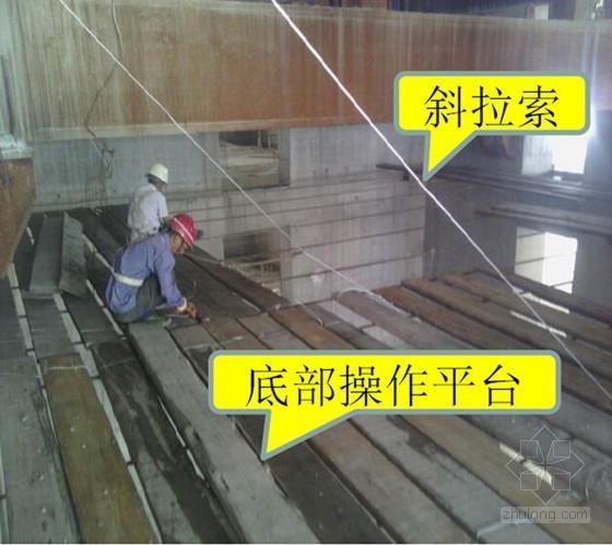 [QC成果]超高层水平预留洞模板悬索支撑体系施工研究创新
