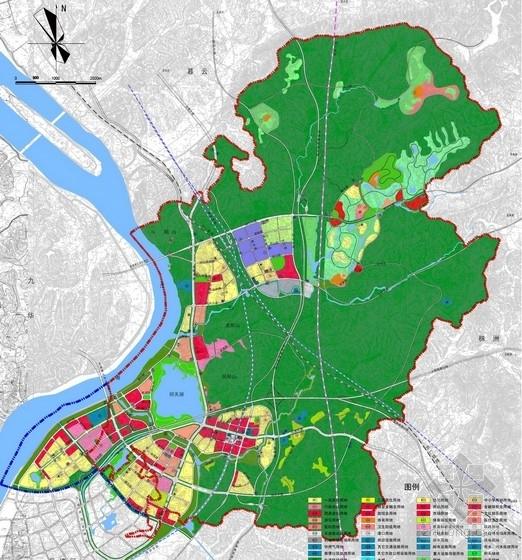 [湖南]示范区公共服务与市政基础设施景观规划设计方案-规划图