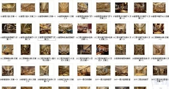 [天津]渤海之巅度假旅游区铂金超五星级酒店设计方案资料图纸总缩略图