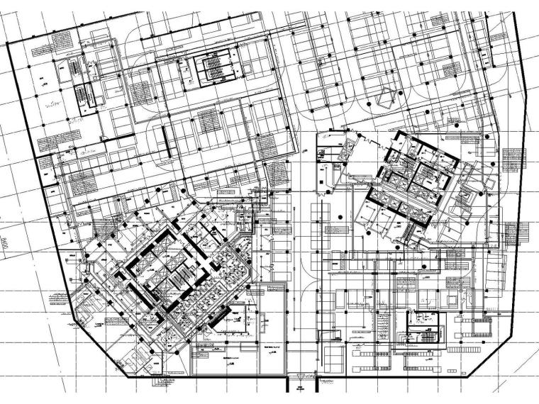 [北京]20万平米超高层综合体全套强弱电图纸(变电所、弱电机房)