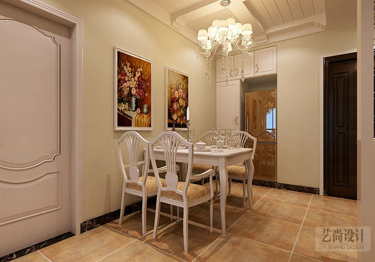 九龙城84平方两室两厅田园风格装修案例-20141228161745