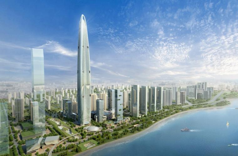 """华中第一高楼武汉绿地中心绿色施工,9000吨建筑废渣""""零排放"""""""
