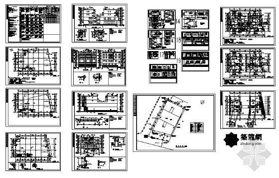 某不规则住宅建筑施工图-4