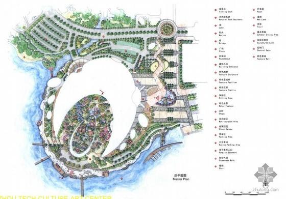 苏州文化艺术中心景观设计方案