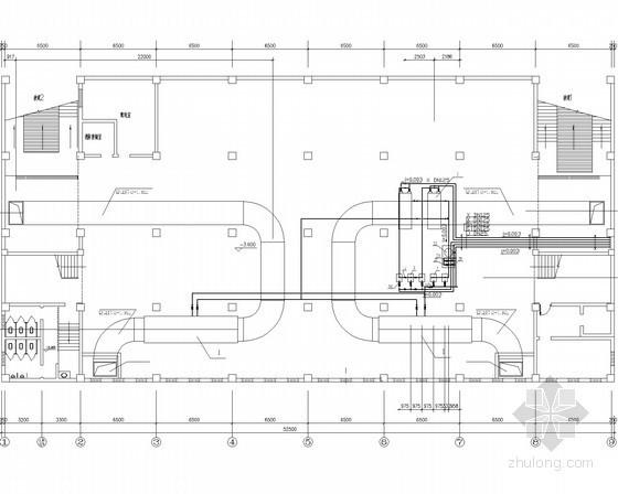 [上海]四层商场空气调节系统设计施工图