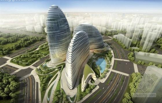 [北京]某知名商业综合体建筑方案文本(著名女设计师设计)