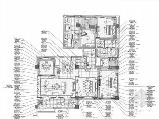 [山东]花园大酒店总统套房室内设计方案