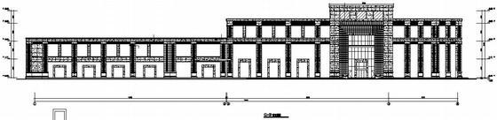 [福州]商务楼石材幕墙设计图