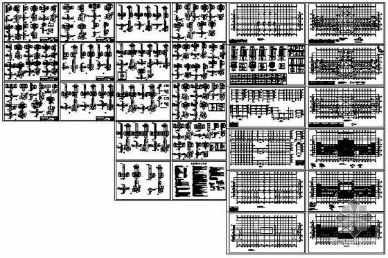 某基地多功能厅结构图