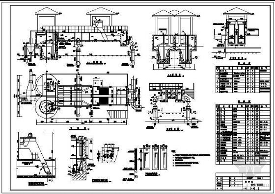 沉砂池工艺设计图