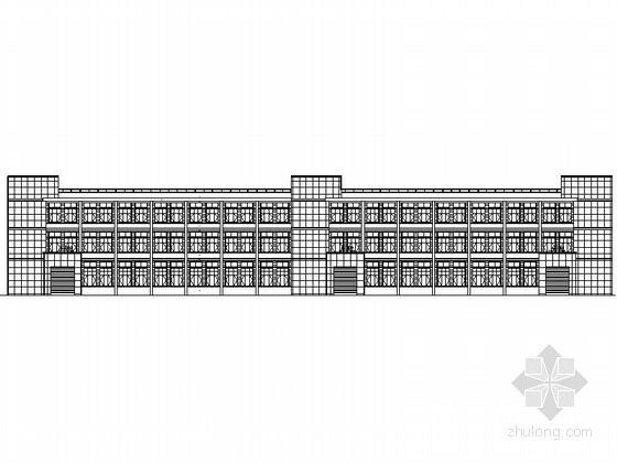 [景德镇]中小企业孵化基地某二层厂房建筑施工图