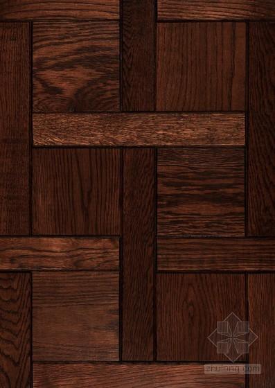 深色木地板