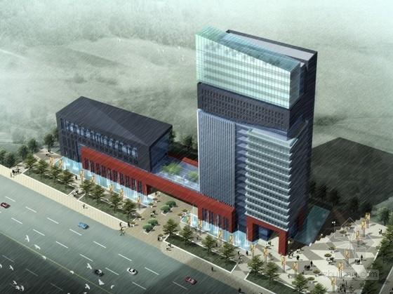 [南京]某24层企业办公楼建筑方案文本