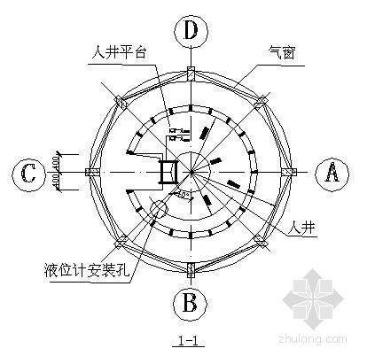 水塔结构设计施工图