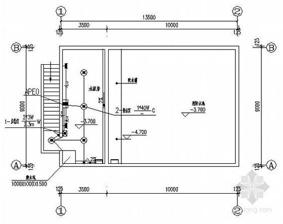 某机械厂房全套电气设计图