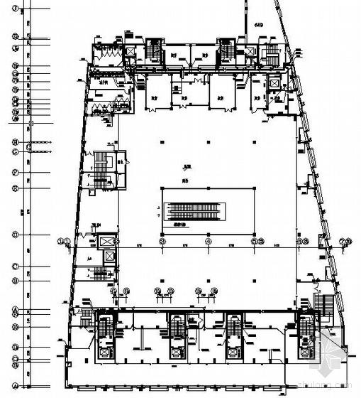 4层商场给排水、消防施工图