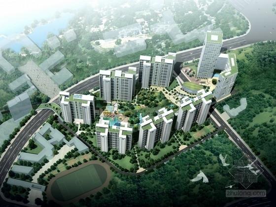 [广东]现代风格住宅区规划及单体设计方案文本(含cad)