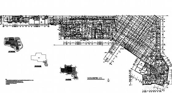 福州市某居住组团大型地下室给排水消防施工图