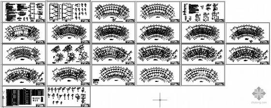 某框架住宅结构竣工设计图