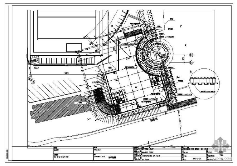 某工程基坑支护(土钉墙、槽钢)图