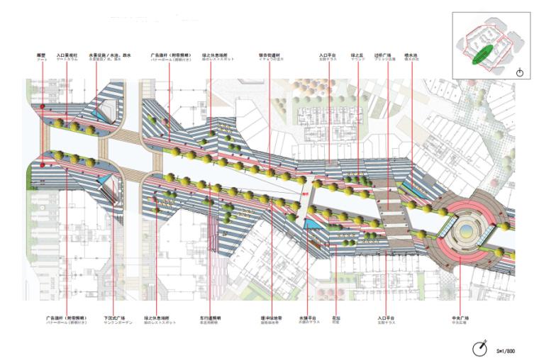 """[四川]""""天府之都""""商业街景观规划方案(附CAD施工图)"""