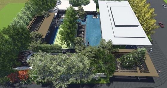 [杭州]未来高品质居住区规划设计方案-鸟瞰效果图