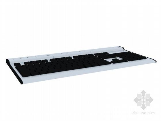 电脑键盘3D模型下载