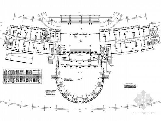 [河南]行政办公大楼空调通风及防排烟系统设计施工图(变频多联机空调系统)