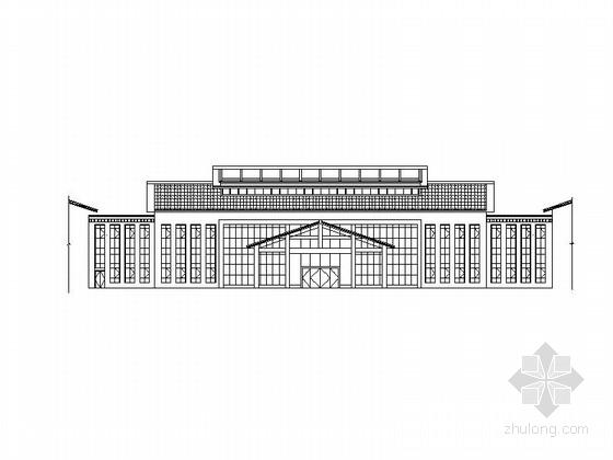 [四川]中式风格二层带阁楼福利中心养护楼建筑施工图