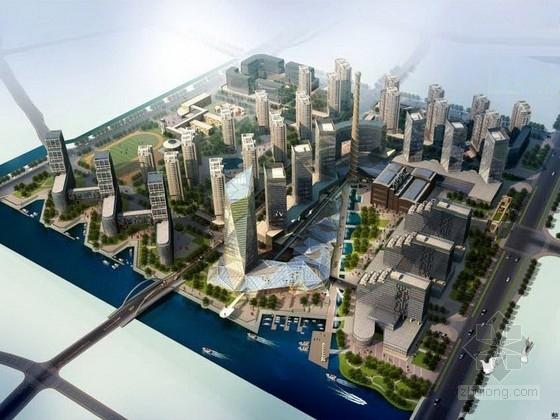 平面厂房规划规划文本资料下载-[浙江]城市综合体规划及单体设计方案文本