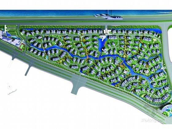 [福州]大型生态居住区景观规划设计