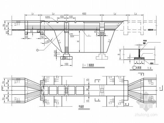 U形平面方案资料下载-U形渡槽结构设计详图