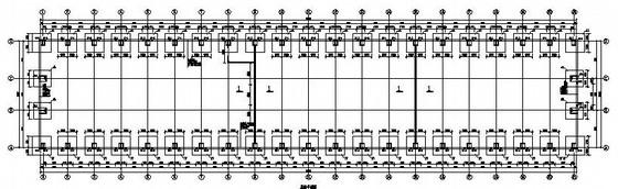 单层门式刚架钢结构仓库施工图