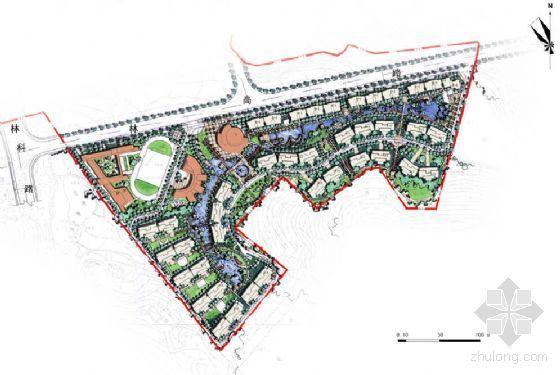 [长沙]大型住宅区项目规划设计方案