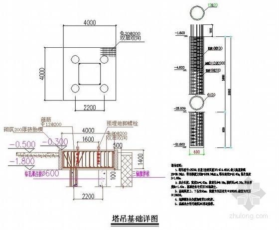 [上海]JTZ5510型塔吊安装拆除专项施工方案(附节点图 计算书)