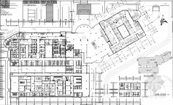 [广东]三级甲等中医院新院弱电智能化全套施工图192张(含各个系统图 大样图 平面图 甲级设计院)